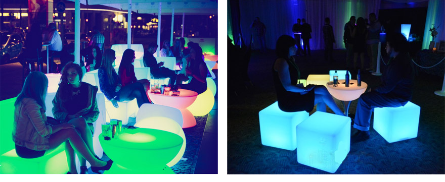Led Ice Bucket Led Outdoor Lighting Furniture Party Amp Event